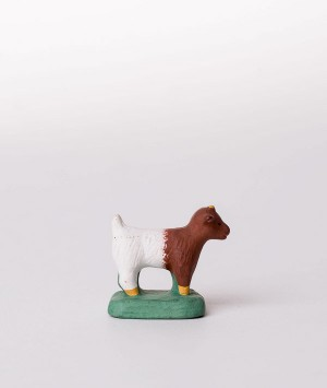 Santon le chevreau marron