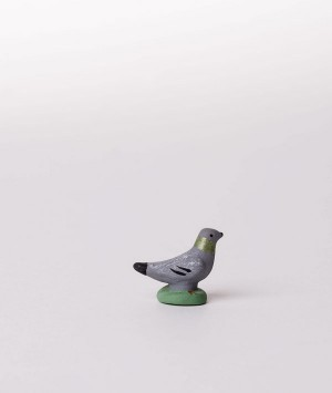 Santon le pigeon mâle