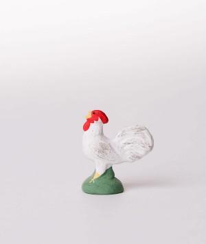 Santon le coq blanc