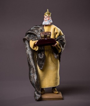 Santon le roi mage Melchior