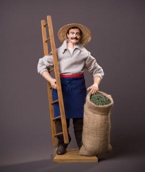 Santon l' Homme aux olives