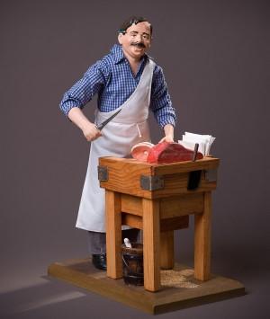 Santon le Boucher