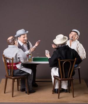 Santon Partie de cartes