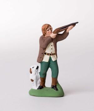 Santon Le chasseur