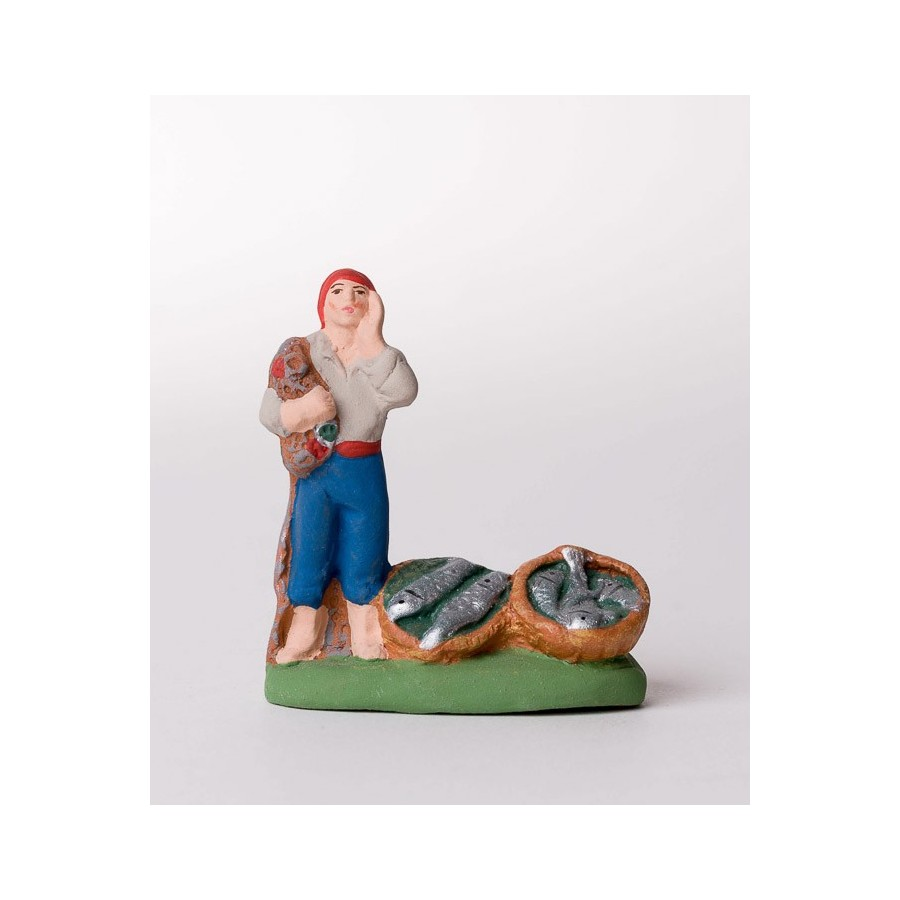 Santon le pêcheur