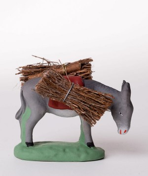 Santon l'âne aux fagots