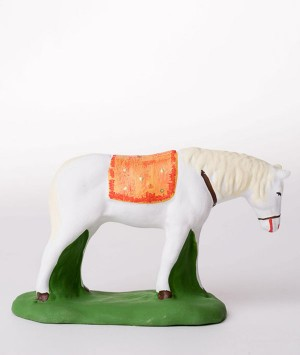 Santon le cheval blanc