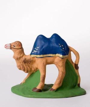 Santon le chameau debout