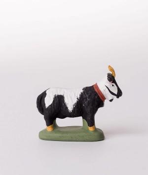 Santon la chèvre noire