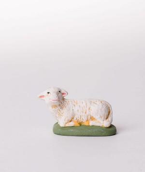 Santon le mouton couché