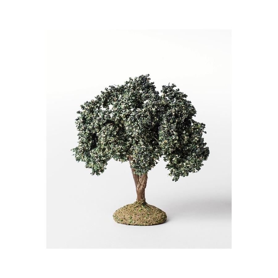 Arbre floqué olivier