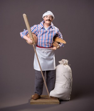 Santon le Boulanger