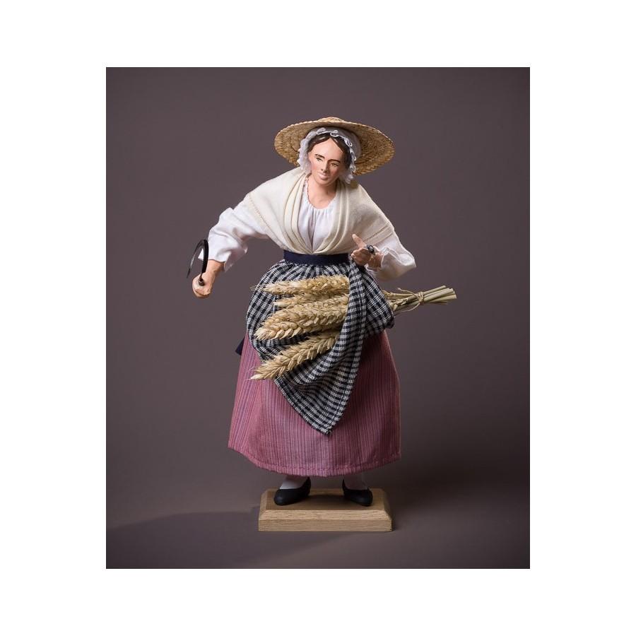 Santon la Femme au blé