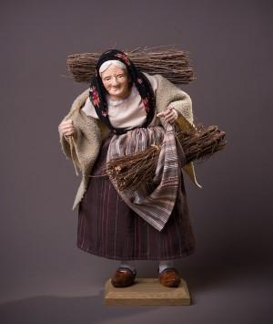 Santon la Femme aux fagots