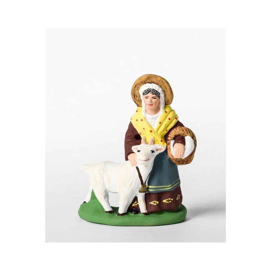 Santon la femme à la chèvre