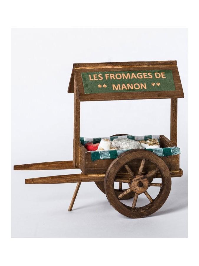 charette la fromagerie de Manon