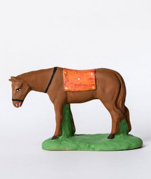 santon le cheval marron