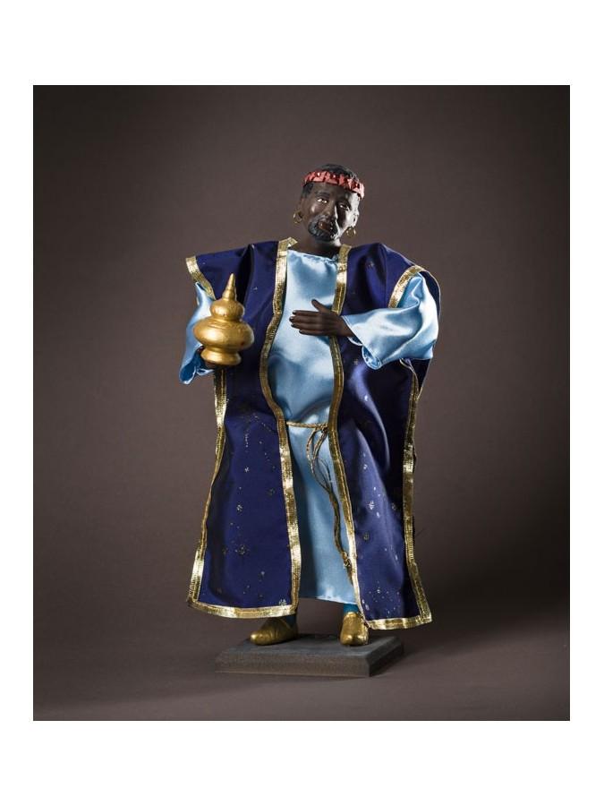 Santon le roi mage Balthazar